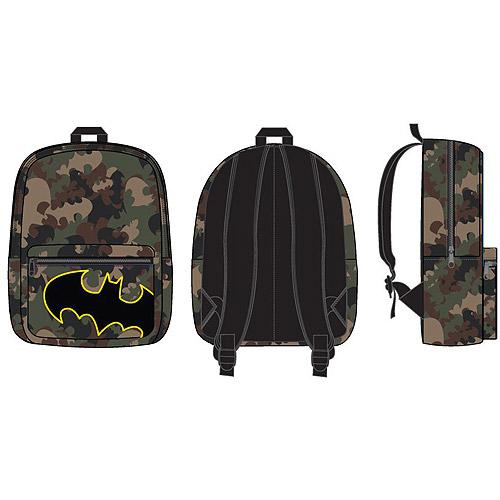"Batman Camo Print 16"" Backpack"