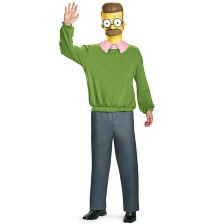Ned Flanders Deluxe Adult Costume - Flanders Costume