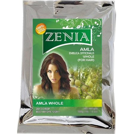 Dry Whole Amla Gooseberry Ayurvedic Hair Treatment 500 grams, USED IN PREPARATION OF SHAMPOOS AND HAIR OIL By Zenia (Ayurvedic Treatments)