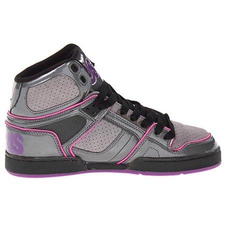 b2e5f72b Osiris - Osiris Women's NYC 83 SLM Skate Shoe (7, Charcoal/Grey/Purple) -  Walmart.com