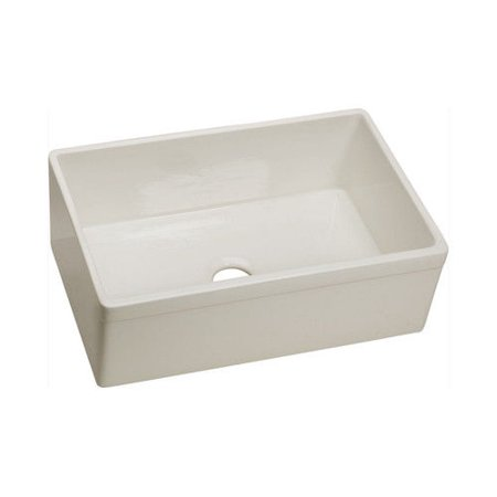 - Elkay SWUF28179BI Explore Undermount 29 in. x 19-3/4 in. Single Basin Kitchen Sink (Biscuit)