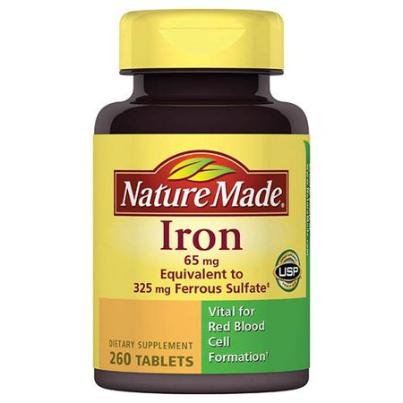Nature Made Iron Walmart