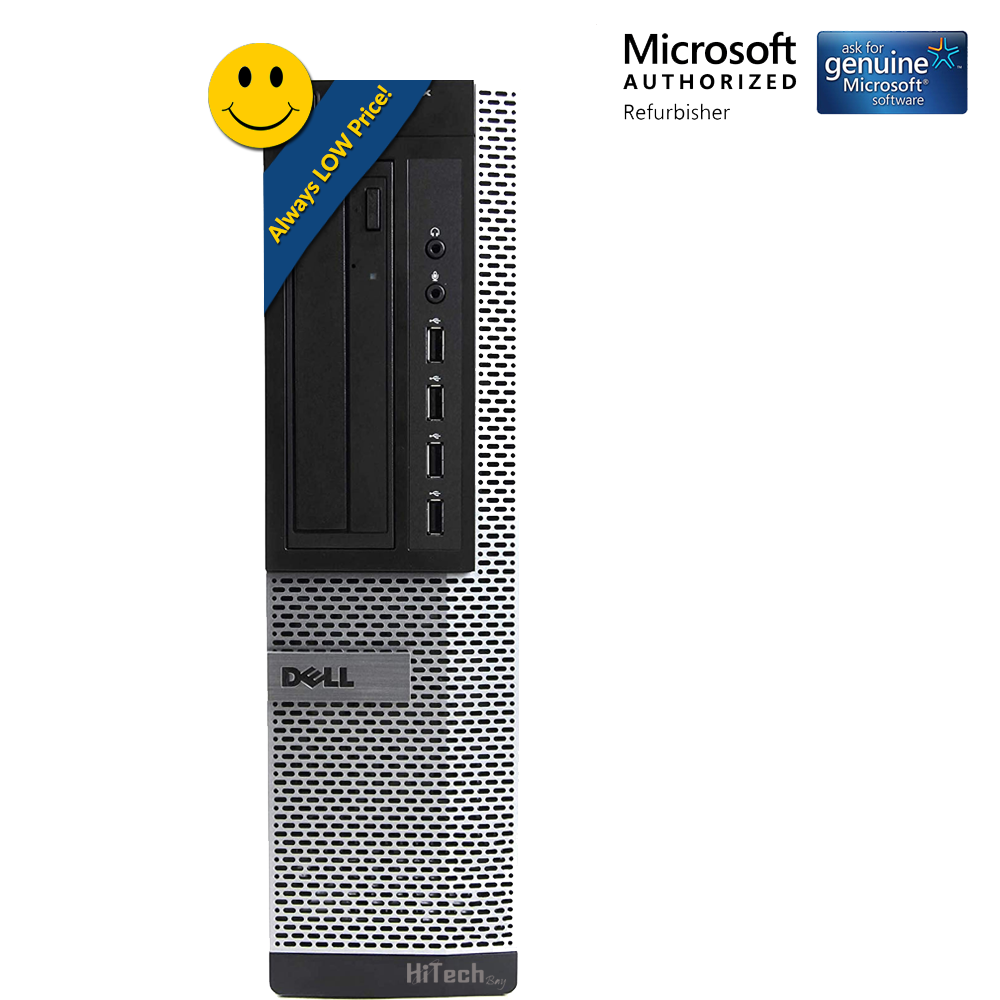 Dell Optiplex 790 Desktop PC Computer Intel Core i5 2400 3.1Ghz 8GB 320GB HDD DVD Windows 10 Home- Keyboard - Mouse - Power Cord-WiFi Adapter (Refurbished) - image 2 de 6
