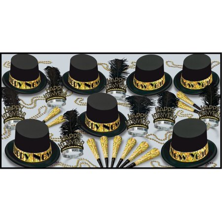 Gold Top Hat Assorted for 50 - CASE OF 1 (Gold Top Hat)