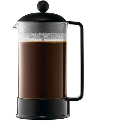 Bodum Brazil French Press Coffee Maker 34 Oz 1 L 8 Cup Black