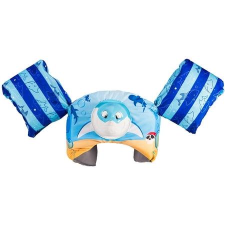 SwimWays Sea Squirts Swim Trainer, Shark Squirter Swim Training Gear