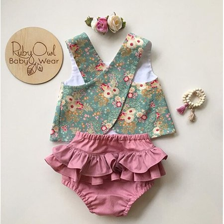Summer Flower Newborn Baby Girls Outfit Clothes Sleeveless Tops T-shirt + Tutu Skirt Shorts Pants Set - Cupcake Tutu Outfit