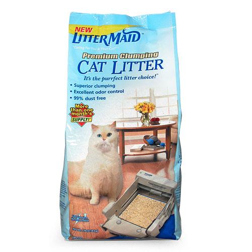 LitterMaid Premium Clumping Cat Litter, 7-lb. Bag