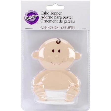 Wilton Baby Face Topper Shower Keepsakes, 1 Ct