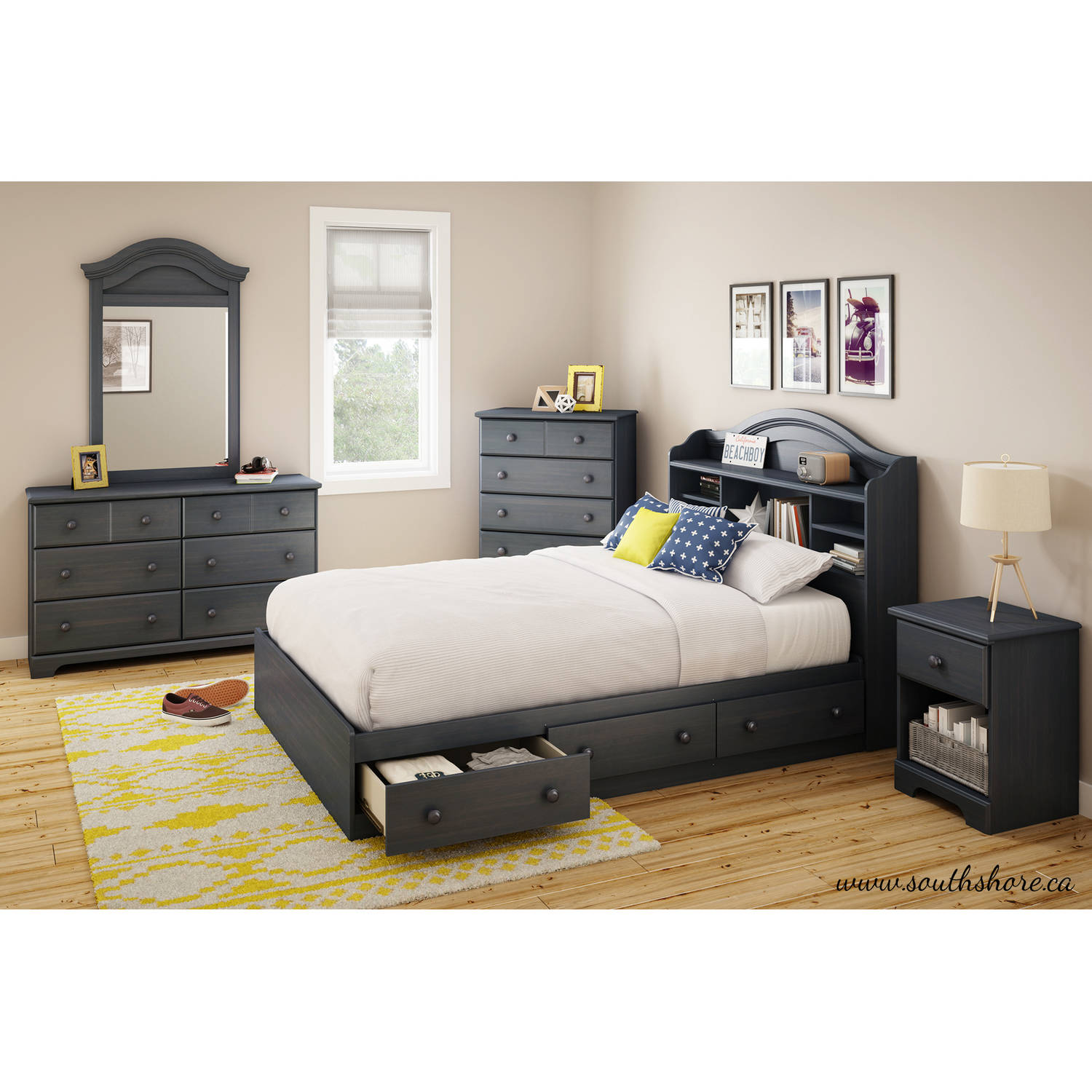 check out eefa2 3bd37 South Shore Summer Breeze 3-Drawer Storage Bed, Twin ...