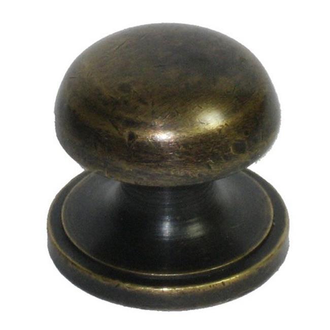Gado Gado Hardware HKN1022 Mushroom Knob, Hemispherical Top