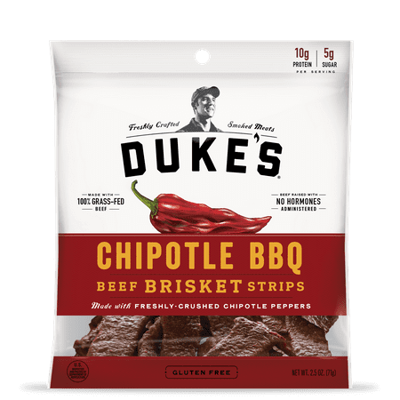 - (3 pack) Duke's Beef Strips, Chipotle BBQ, 2.5 Oz