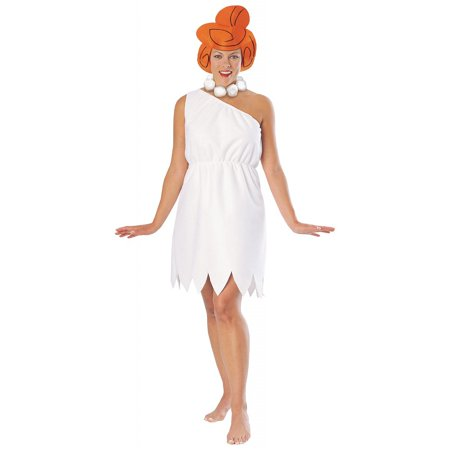 Wilma Flintstone Adult Costume - Small