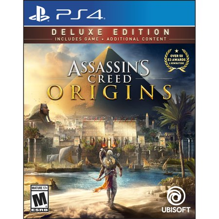 Assassin's Creed: Origins, Ubisoft, PlayStation 4, PRE-OWNED, 886162334258