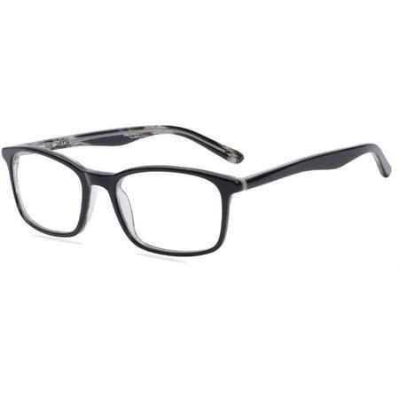 American Classics Mens Prescription Glasses, Dizzy Black