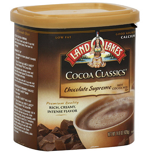 Land O Lakes Chocolate Supreme Hot Cocoa Mix, 14.8 oz (Pack of 6) by Land O Lakes