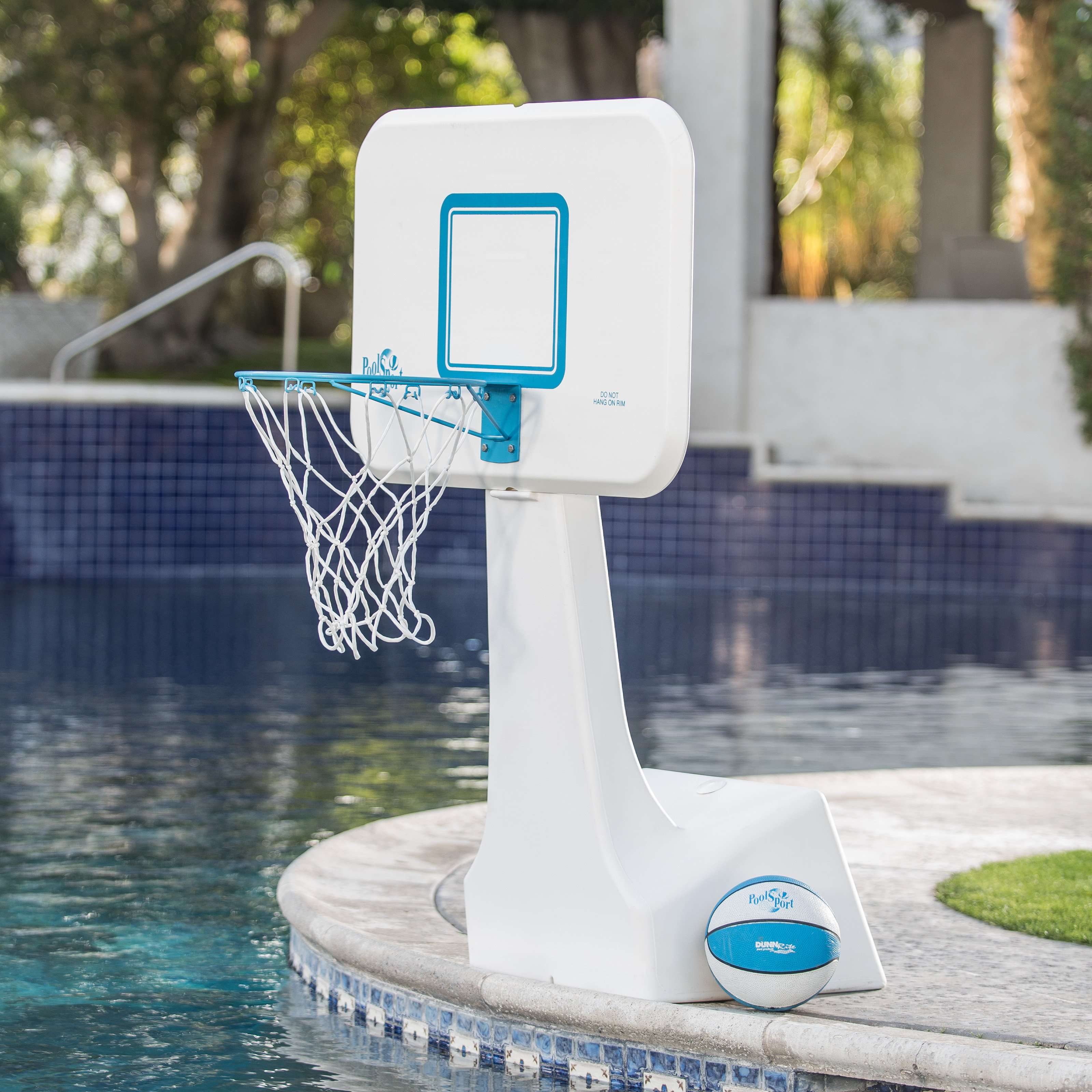 Dunn Rite PoolSport Portable Pool Basketball Hoop