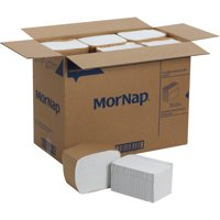 Georgia-Pacific, GPC37406, MorNap Full Fold Dispenser Napkins, 6000 / Carton, White