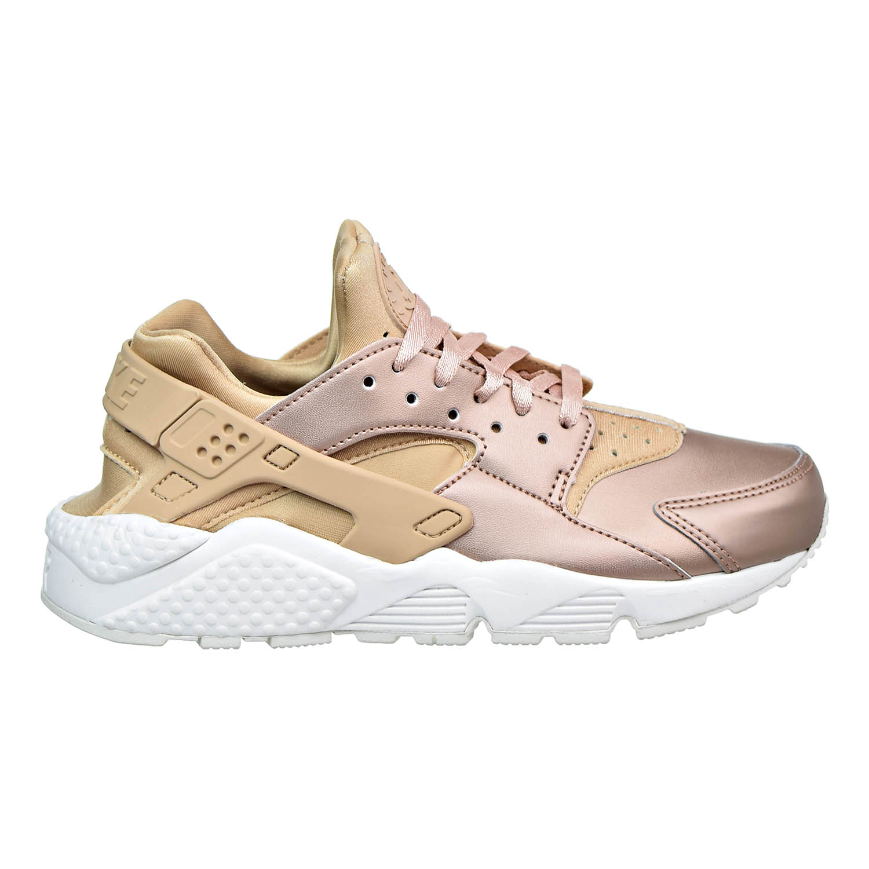 Nike Air Huarache Run Pemium TXT Womens Shoes Elm/Metallic Red Bronze aa0523-200