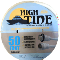 High Tide Marine 30 Amp 9506 100 ft Marine Shore Power Extension Cord
