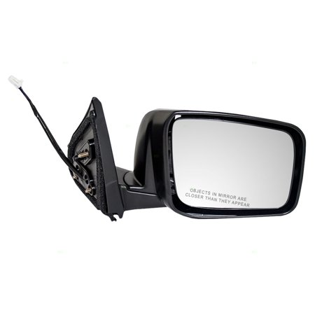 Passengers Power Side View Mirror Heated Replacement for Nissan Rogue & Rogue Select 96301JM200