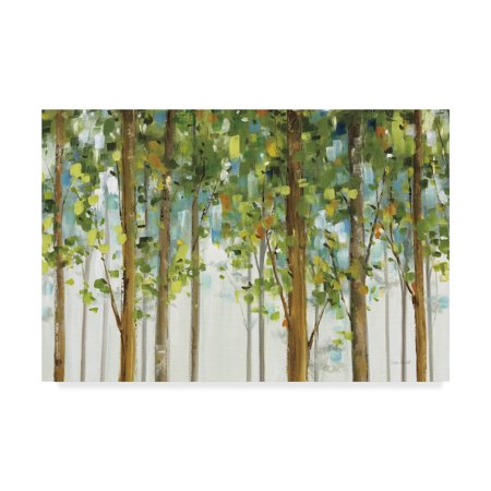 - Trademark Fine Art 'Forest Study I Crop' Canvas Art by Lisa Audit