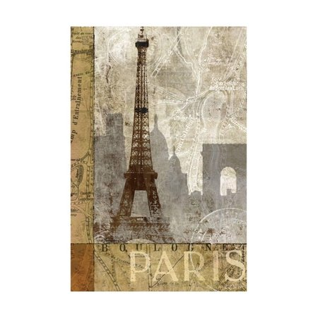 - April in Paris Print Wall Art By Keith Mallett