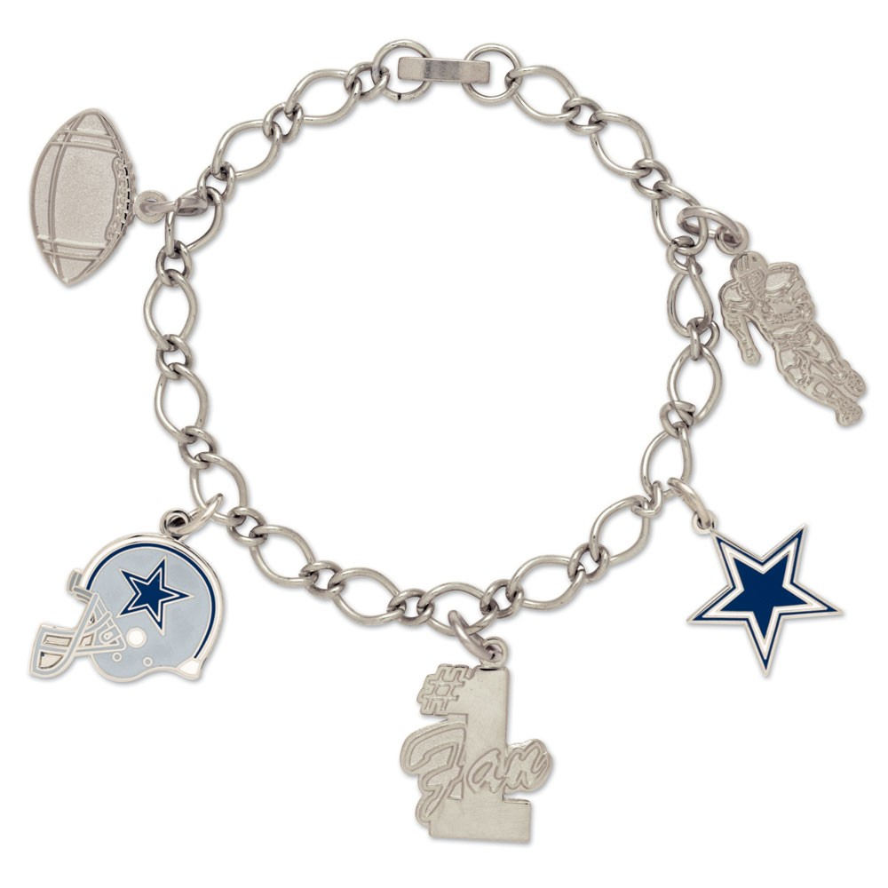Dallas Cowboys Official NFL 7 inch  Bracelet by Wincraft