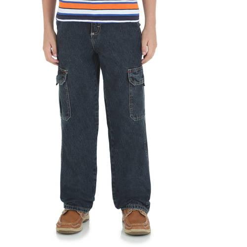 Wrangler Husky Boys' Classic Cargo Jean