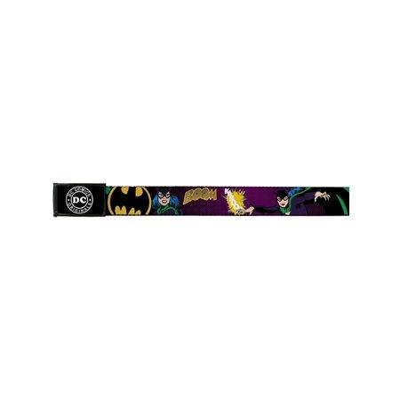 Catwoman DC Comics Villain Retro Kaboom Attack Web Belt - Catwoman Belt