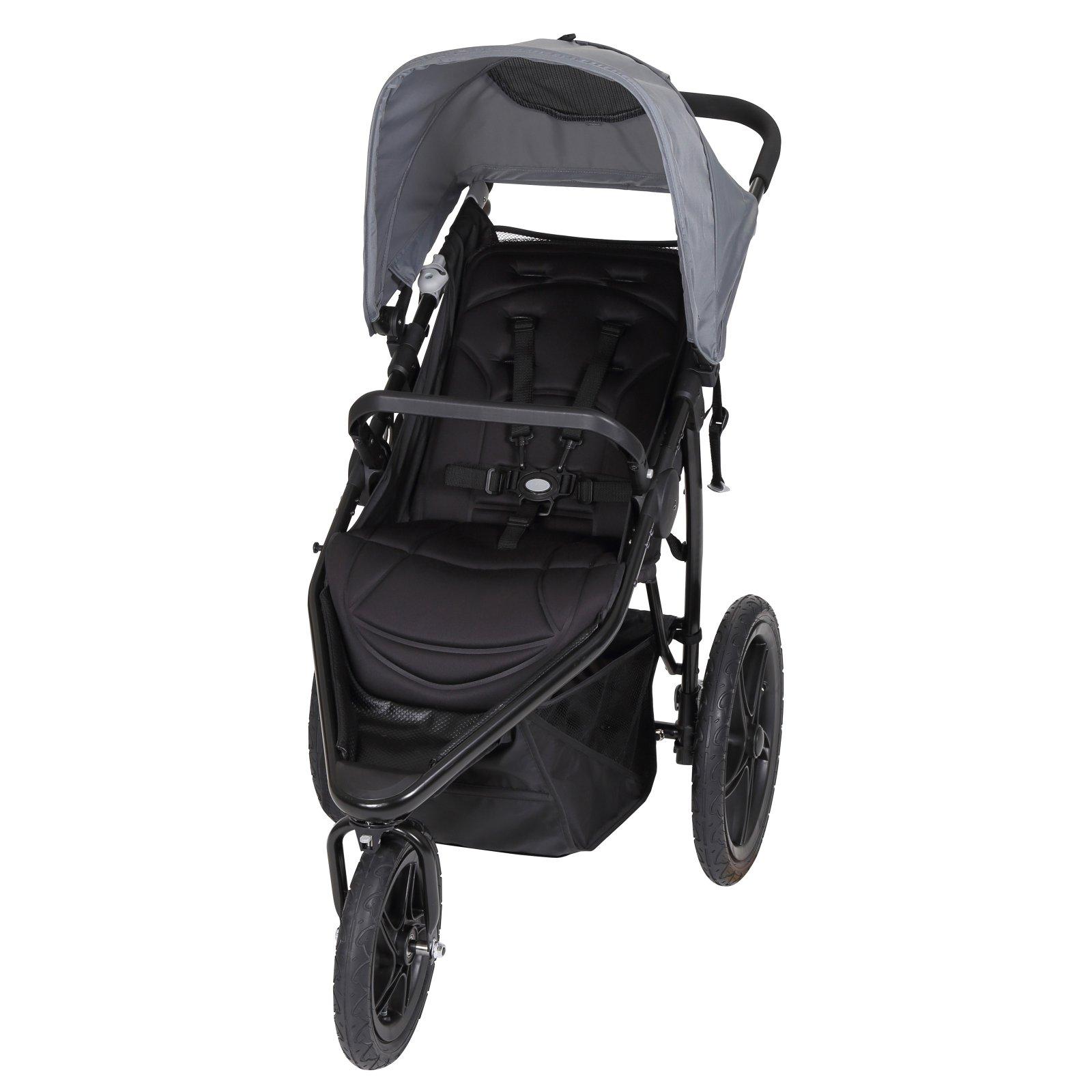 Baby Trend Stealth Jogging Stroller, Alloy