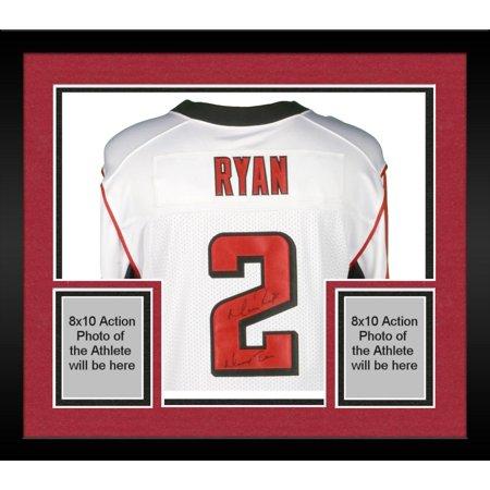 finest selection e1b24 efa86 Framed Matt Ryan Atlanta Falcons Autographed White Elite Jersey with