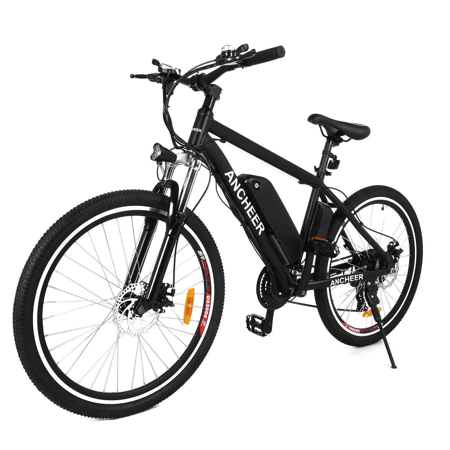 Dailydeal Electric Power Bike Folding Bicycle 21 Speed 36V 8A Lithium Battery