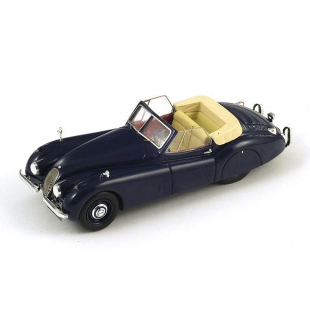 1953 Jaguar XK120 XK 120 Cabrio Blue 1/43 Diecast Car Mod...