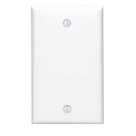 Leviton 80714-W Blank Nylon Wallplate Box Mount White