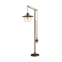 Floor Lamps 1 Light With Antique Brass Finish Steel Material Medium Base Bulb Type 70 inch 100 Watts