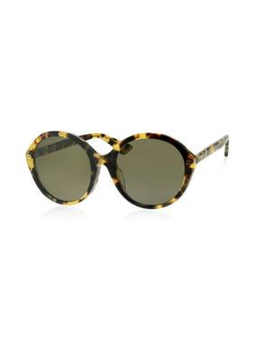 1f42b17ed1 Free shipping. Product Image Gucci GG0023SA-006 Havana Ladies Sunglasses