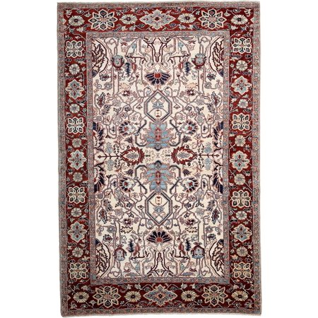 Solo Rugs One-of-a-kind Serapi Hand-knotted Area Rug 6' x 9'