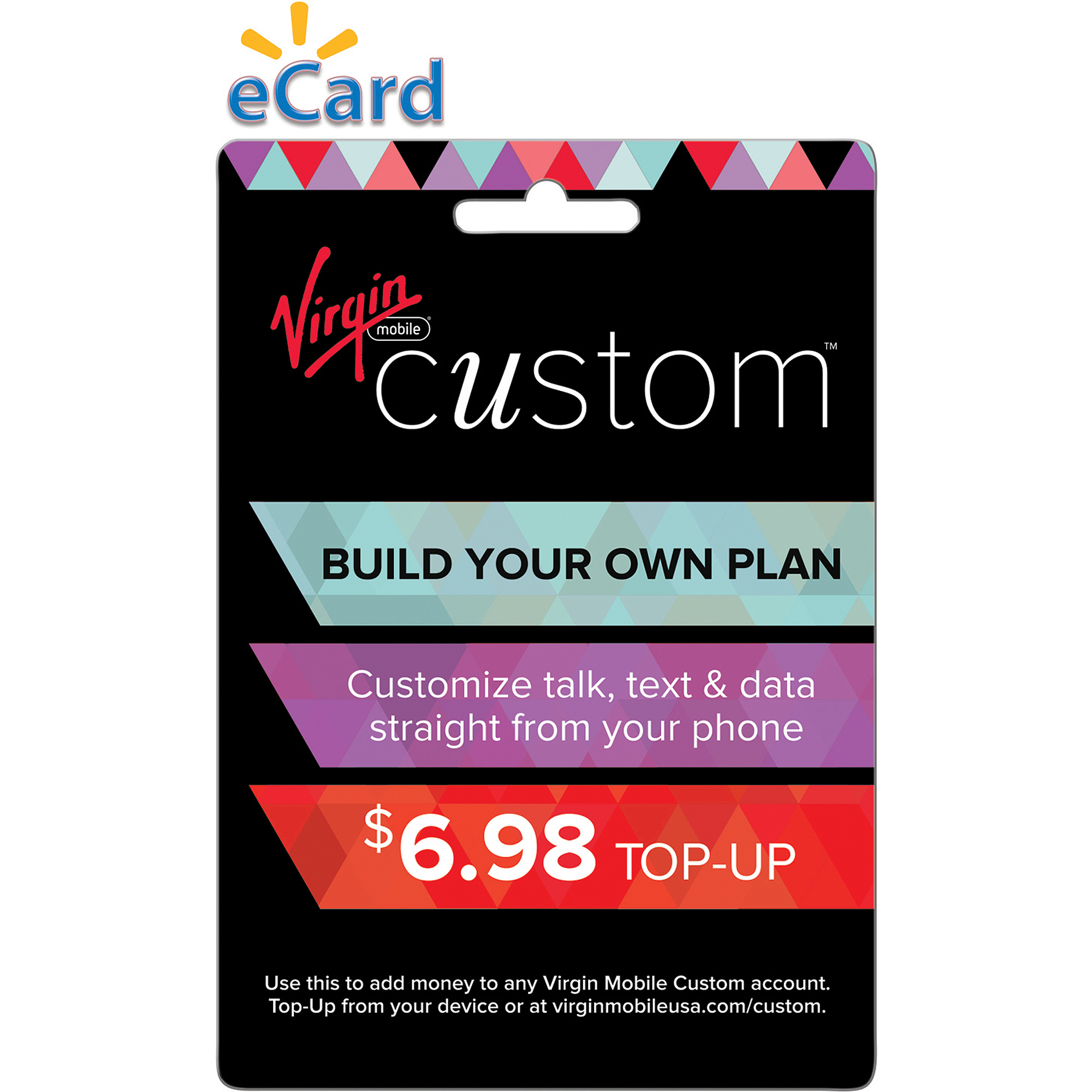 Virgin Mobile Custom $6.98 (Email Delivery)