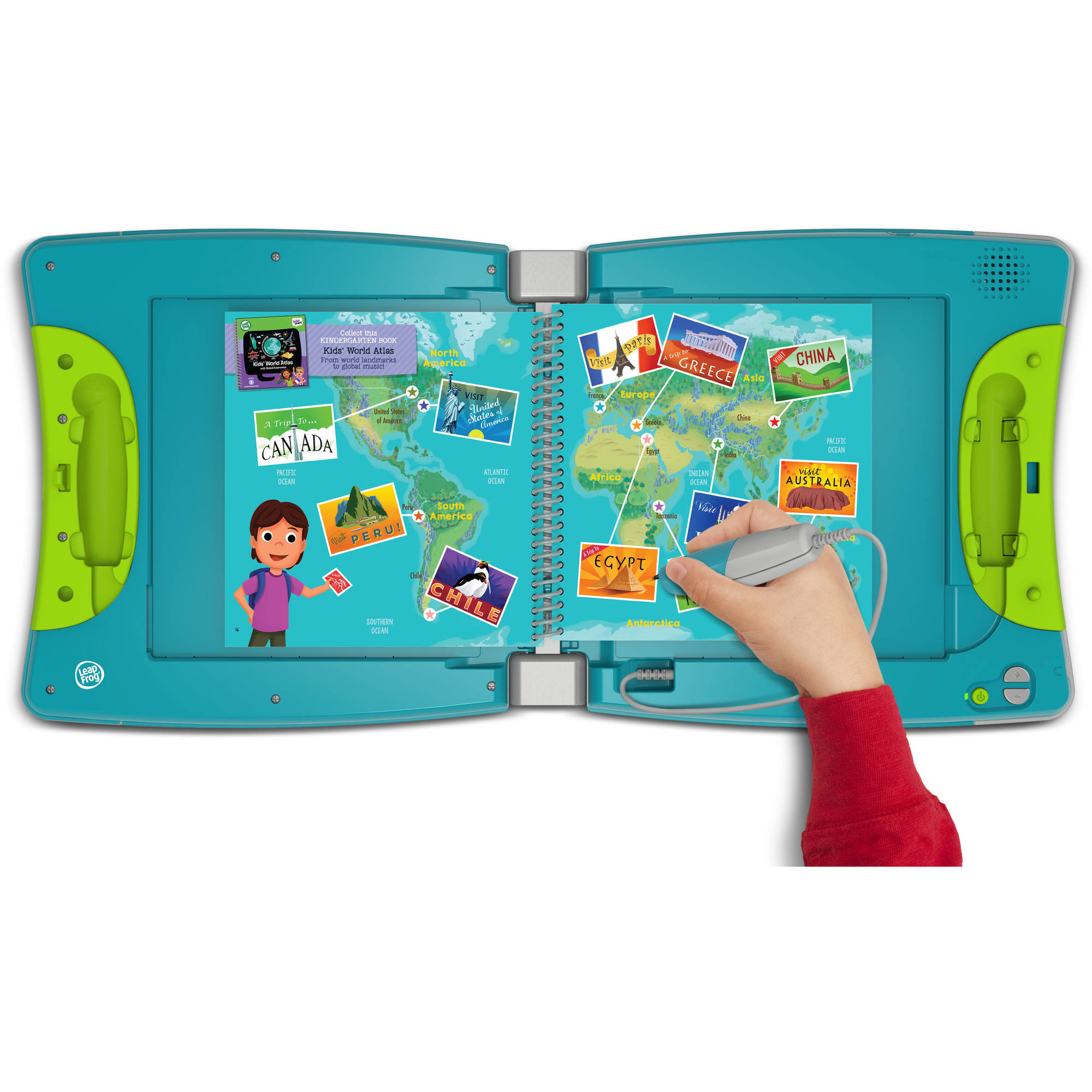 LeapFrog LeapStart Interactive Learning System Kindergarten and 1st Grade for Kids Ages 5-7, Works with all LeapStart Books