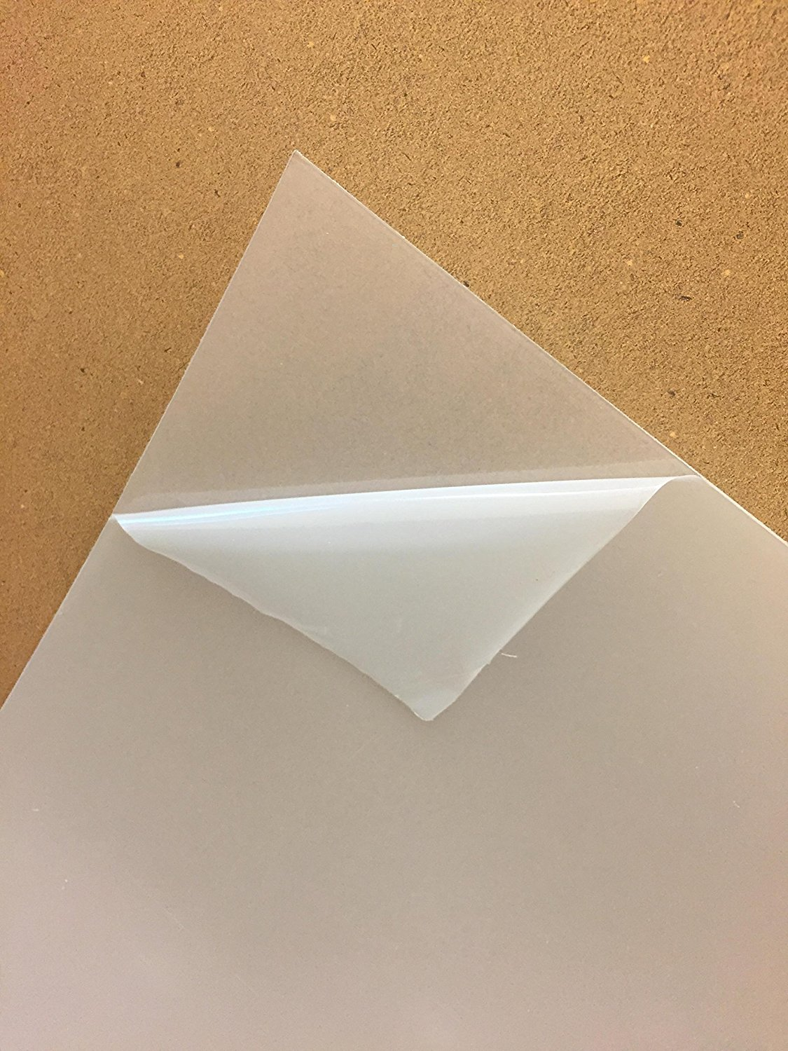 """Clear PETG plastic .020/"""" x 24/"""" x 48/"""" Polyester Sheet"""