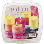 Crystallizing Candle Wax, 1 lb, For Pillars and Votives