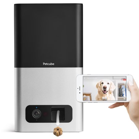 Petcube Bites Wi-Fi Pet Camera with Treat Dispenser - Matte - Treat Dispenser Rubber