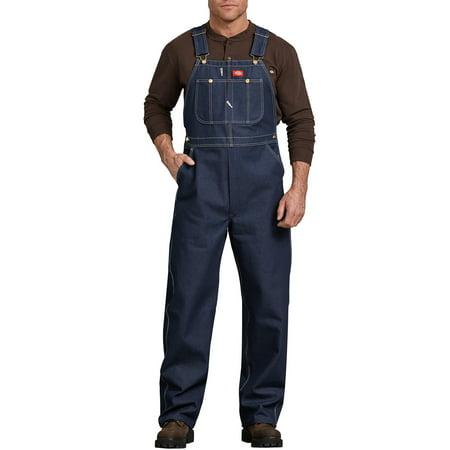 Men's Indigo Bib Overall - Embroidered Bib Pocket Overall