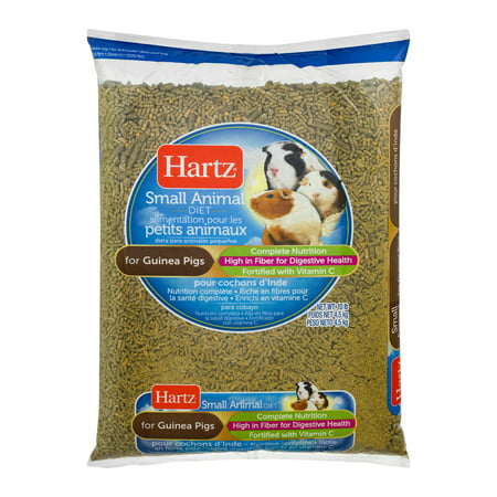 Hartz Small Animal Diet for Guinea Pigs, 10 lbs.