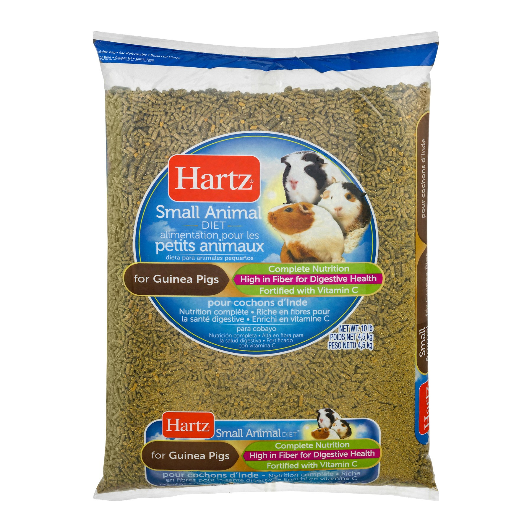 Hartz Small Animal Diet for Guinea Pigs, 10.0 LB