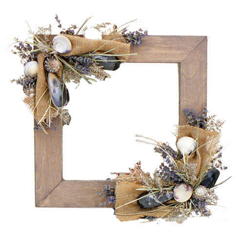 Urban Florals Harborside Mirror Wreath