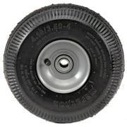 "Marathon 4.10/3.50-4"" Pneumatic (Air Filled) Hand Truck / All Purpose Utility Tire on Wheel, 2.25"" Offset Hub, 3/4"" Bearings"