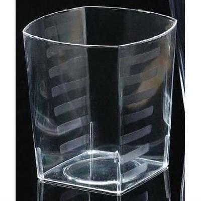 - EMI Yoshi Squares 9 oz Plastic Rocks Glasses , 2PK