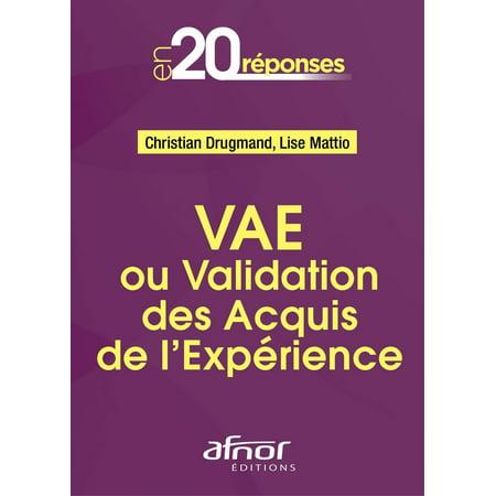 VAE ou Validation des Acquis de l'Expérience - eBook